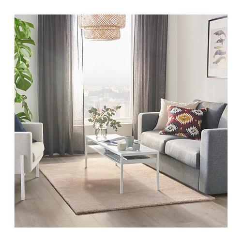 STOENSE alfombra, pelo corto, 133x195cm
