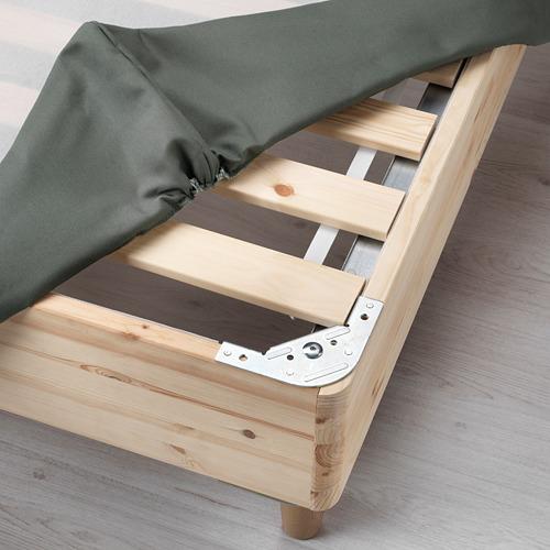 ESPEVÄR base cama con somier, 160cm