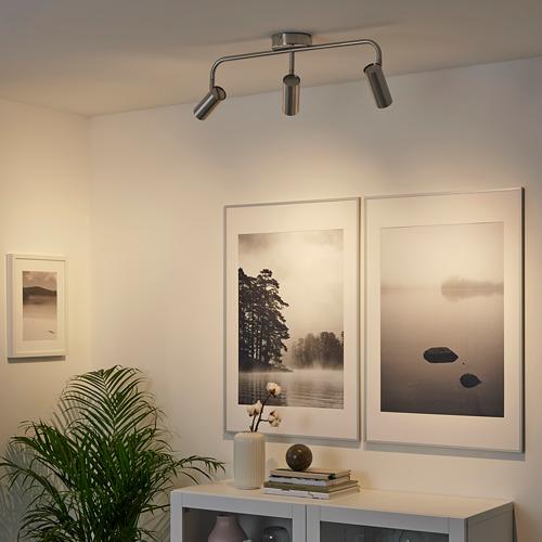 VIRRMO lámpara techo con 3 focos
