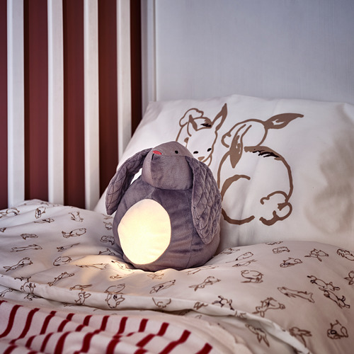 PEKHULT peluche con luz de noche LED integrada