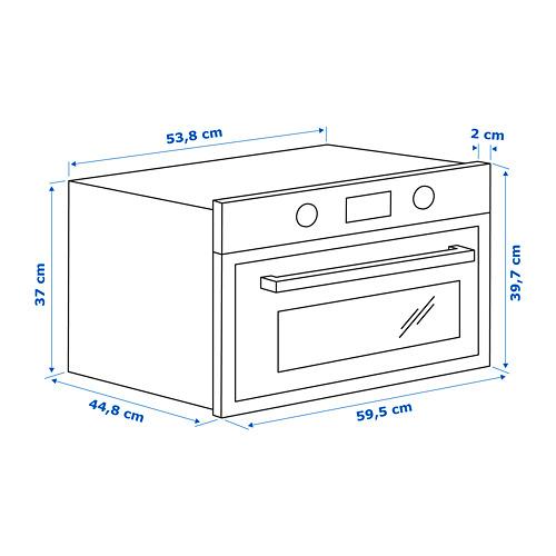 ANRÄTTA horno microondas