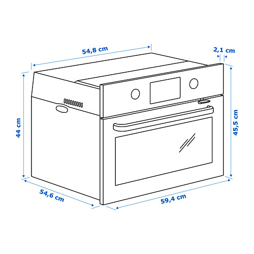 EFTERSMAK horno microondas
