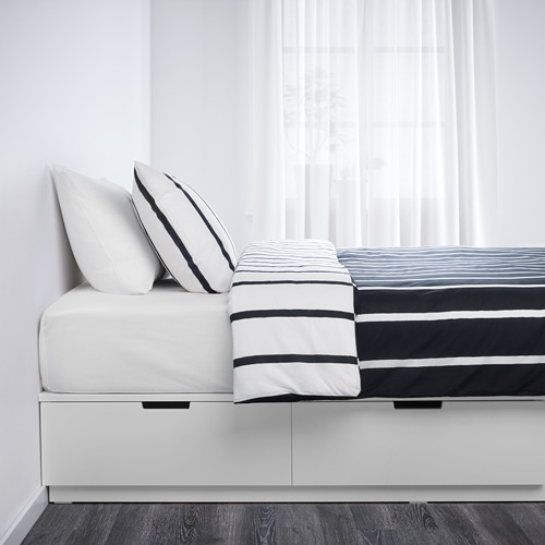 NORDLI estructura de cama con almacenaje