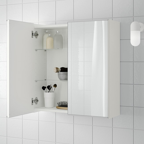 LILLÅNGEN armario &espejo, 2 puertas
