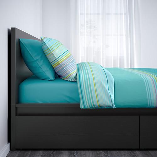 MALM estructura de cama con 2 cajones, 160cm