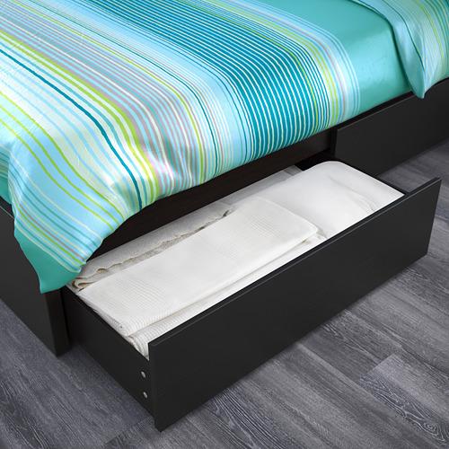 MALM estructura de cama con 4 cajones, 160cm