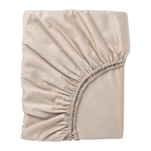 NATTJASMIN sábana bajera ajustable, 310 hilos, 80cm