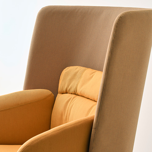 BINGSTA sillón con respaldo alto