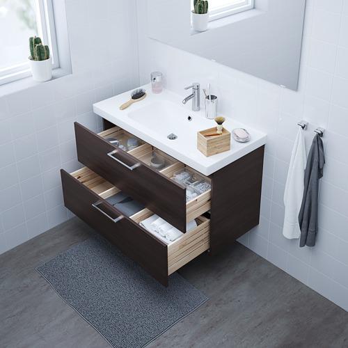 ODENSVIK/GODMORGON armario lavabo 2 cajones
