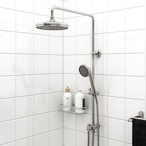 VOXNAN juego de ducha fija con ducha de mano