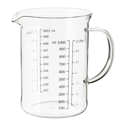 VARDAGEN jarra graduada, 1 litro