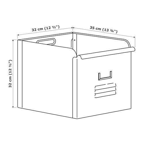 REJSA caja, 32x32cm