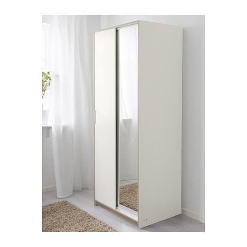 TRYSIL armario con 2 puertas correderas