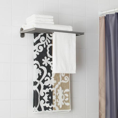 BROGRUND estante toallero de pared