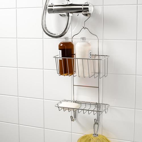 IMMELN portaobjetos ducha, 2 pisos
