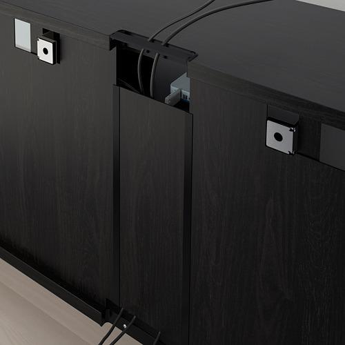 BESTÅ mueble TV +  puertas y cajones
