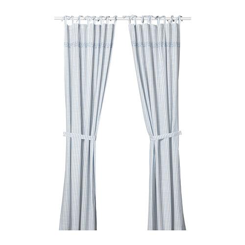 GULSPARV cortinas y alzapaños, 1par