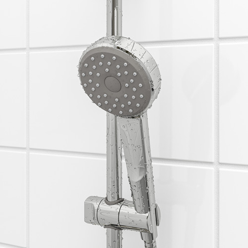 BROGRUND barra regulable pared con juego de ducha