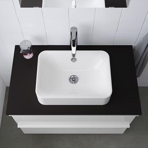 HÖRVIK lavabo encimera