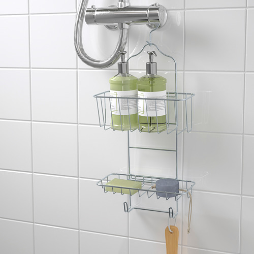 KROKFJORDEN portaobjetos ducha, 2 pisos