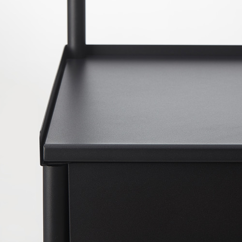 KORNSJÖ tocador alto con 2 puertas y 1 cajón