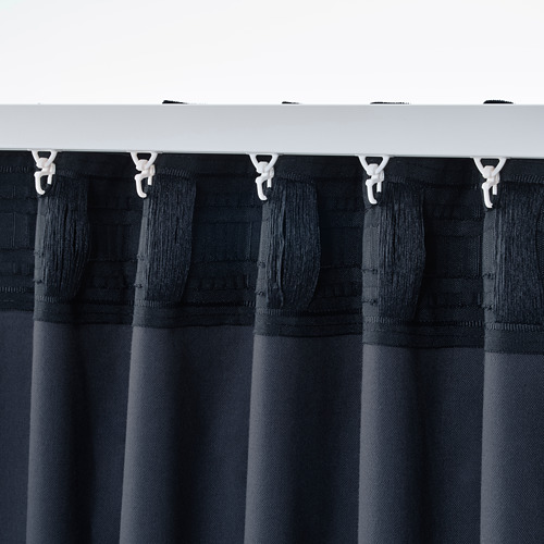 SANELA cortina, 1 par, 140x300cm