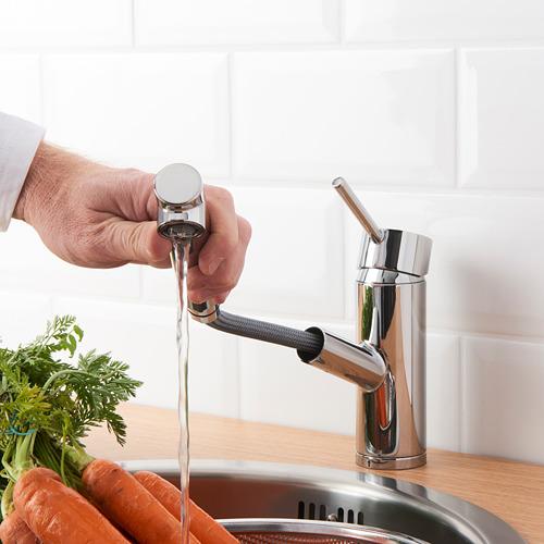 YTTRAN grifo de cocina con ducha extraíble