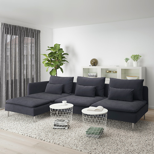SÖDERHAMN sofá 4 plazas