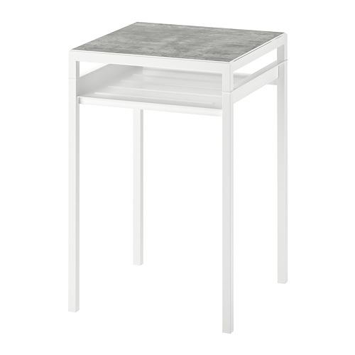 NYBODA mesa auxiliar tablero reversible