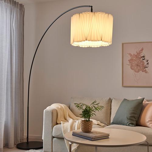 KUNGSHULT/SKAFTET lámpara pie, arco