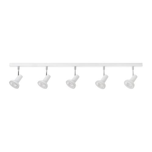 STRATOSFÄR lámpara de techo con 5 focos