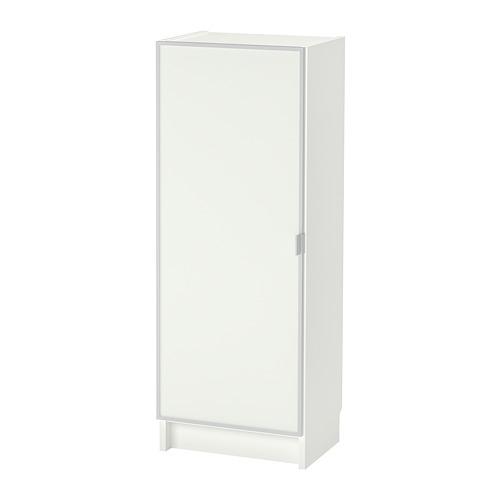 BILLY/MORLIDEN estantería con puerta de vidrio