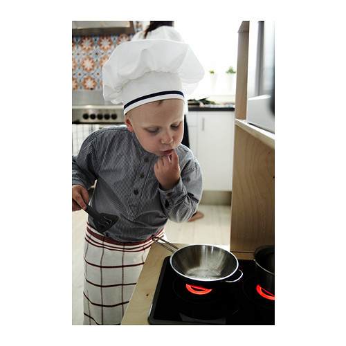 DUKTIG utensilios para cocinar niños, juego de 5