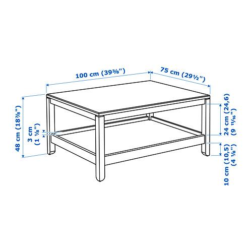 HAVSTA mesa de centro