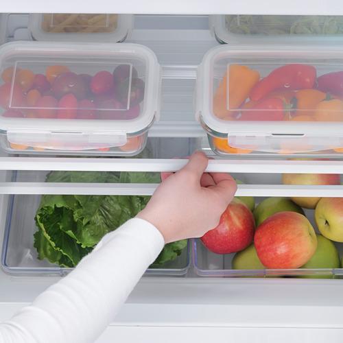HUTTRA frigorífico integrado con congelador en el interior, 59,6x54,5x81,5cm