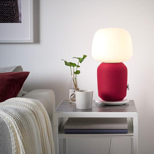 SYMFONISK funda altavoz lámpara mesa