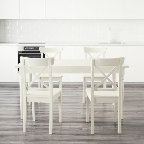 INGATORP/INGOLF mesa con 4 sillas