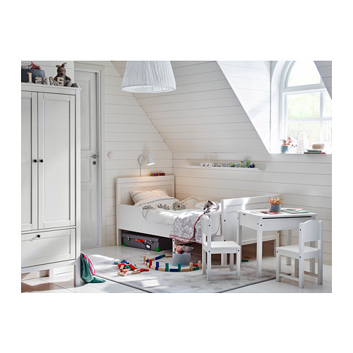 SUNDVIK  cama extensible con somier de láminas, 80cm