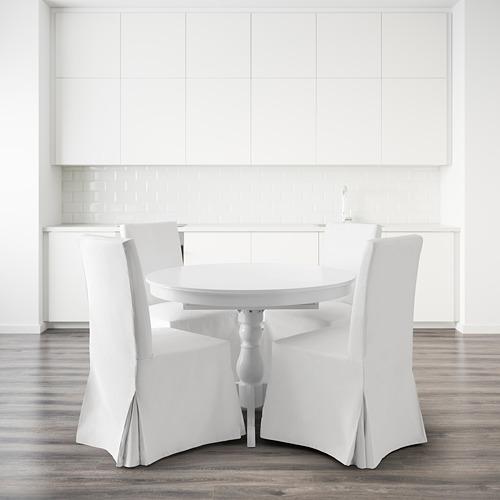INGATORP/SAKARIAS mesa redonda con 4 sillas, diámetro 110cm