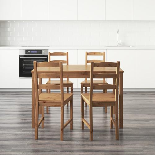 JOKKMOKK mesa con 4 sillas, longitud de la mesa 118cm