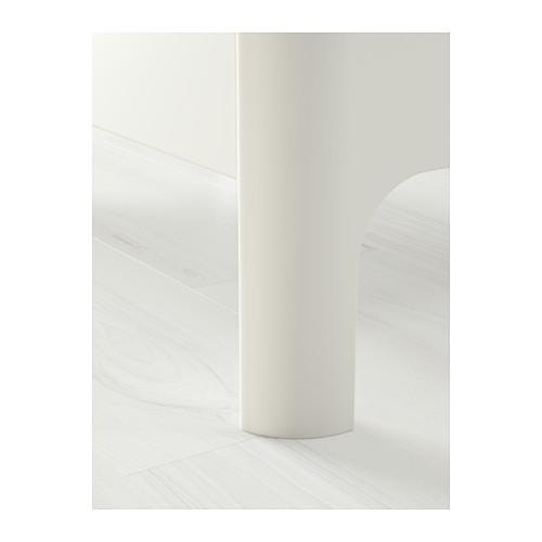 BUSUNGE cama extensible, blanco
