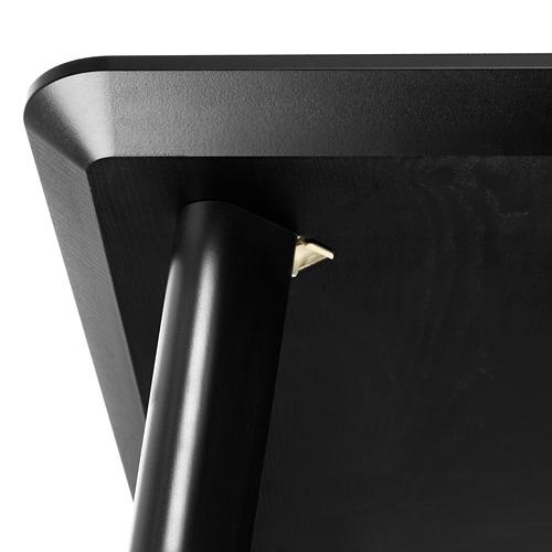 LISABO/ODGER mesa con 4 sillas, longitud de la mesa 140cm