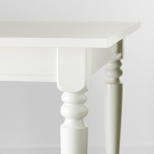 INGATORP/INGOLF mesa extensible  con 4 sillas, máximo extensión 215cm
