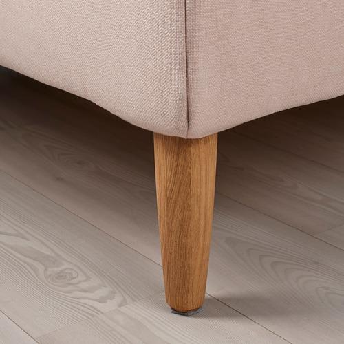 IDANÄS cama 140cm, estructura cama tapizada con somier