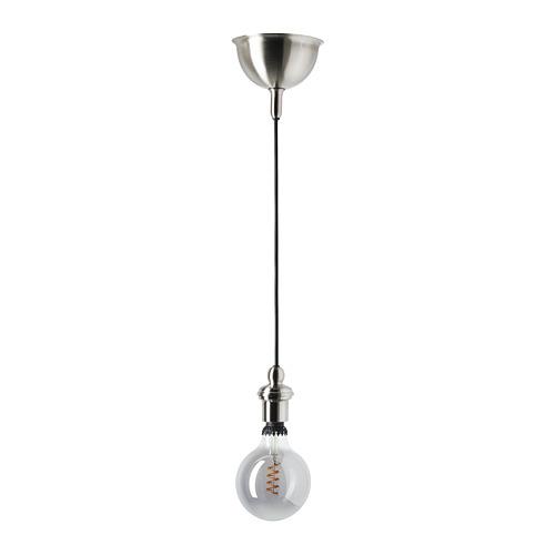 GOTHEM/ROLLSBO lámpara techo + bombilla