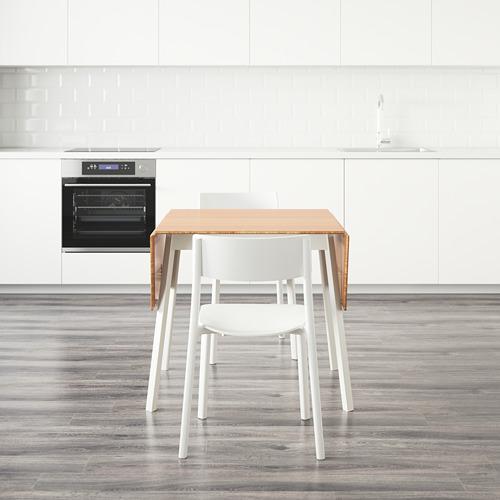 JANINGE/IKEA PS 2012 mesa abatible  con 4 sillas, máximo extensión 138cm