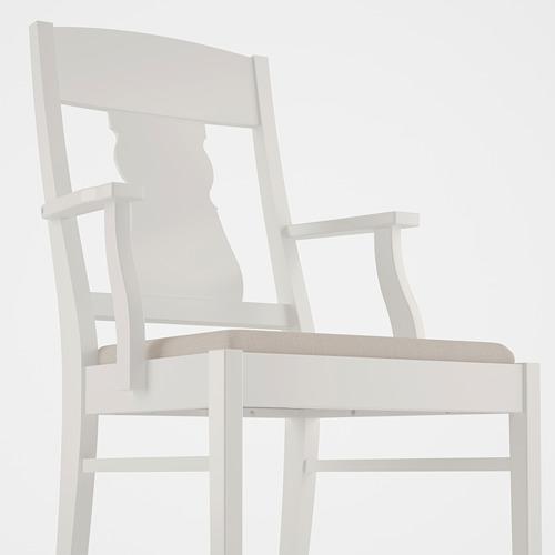 INGATORP/INGOLF mesa redonda con 4 sillas, diámetro 110cm