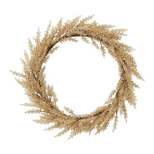 HÖSTKVÄLL corona de Navidad artificial
