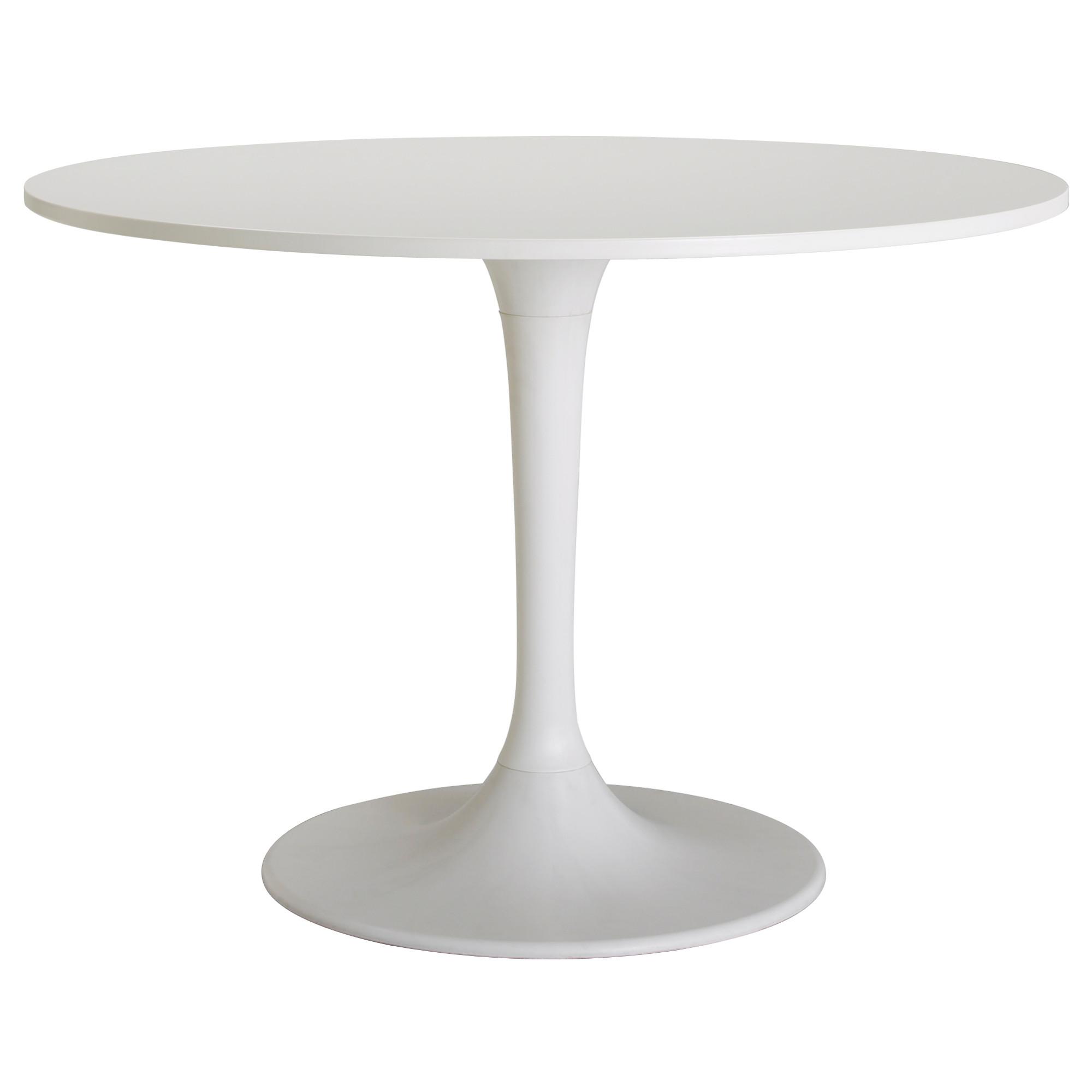 DOCKSTA Table, white, white IKEA