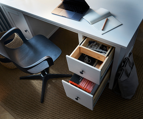 HEMNES escritorio, 155x65cm